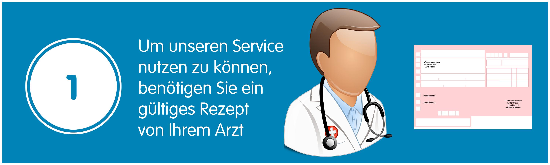 Mobile Apotheke Kassel - Um unseren Service nutzen zu können, benötigen Sie ein gültiges Rezept von Ihrem Arzt